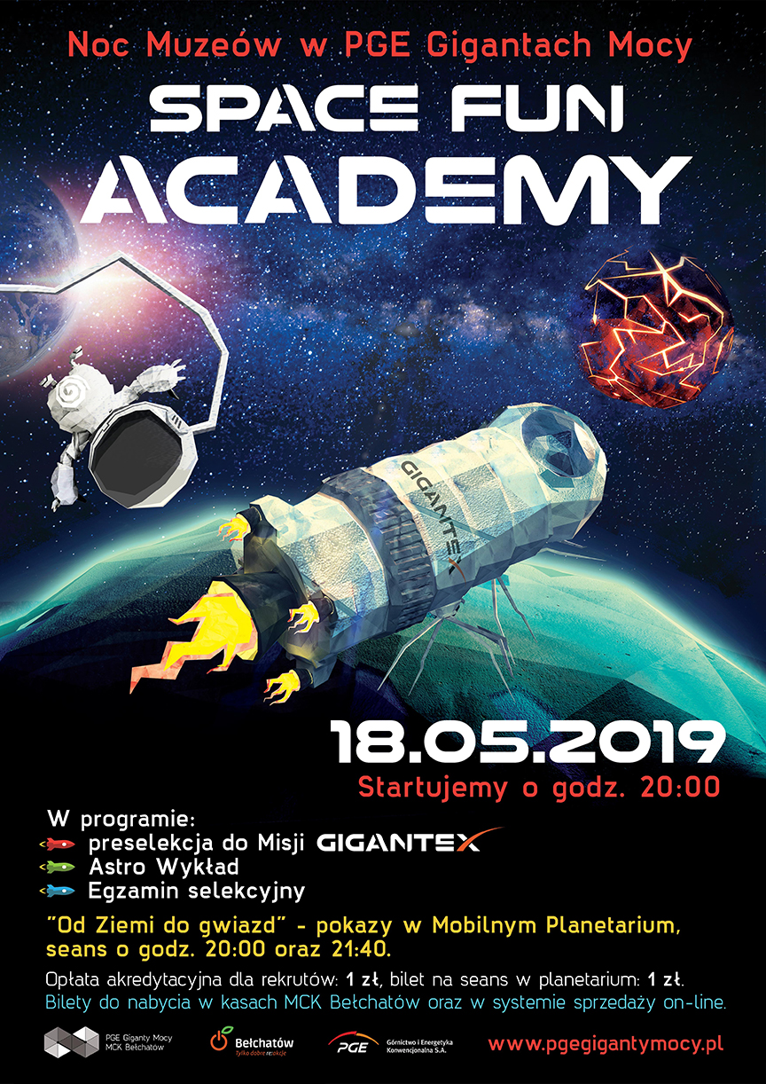 space fun academy noc muzeów 2019 01 01